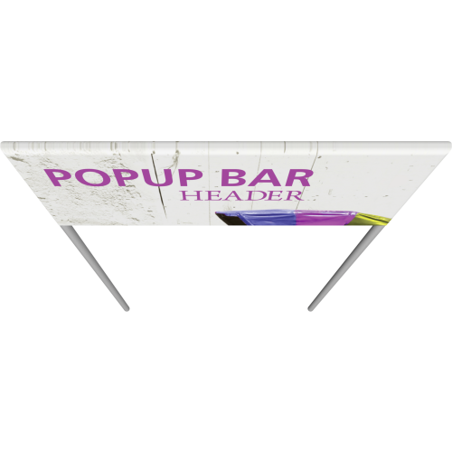 Popup Bar Large Header