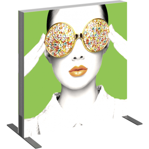 Vector Frame Light Box Square 01 Fabric Banner Display