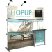 Hopup 7.5ft Full Height Tension Fabric Backwall and Accessory Kit 02